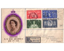 1953 - LBF/2508 - GRAN BRETAGNA - INCORONAZIONE - FDC