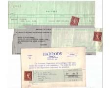 1966 - LBF2511  - GRAN BRETAGNA - RICEVUTE