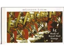 1990 - LBF/2516  - GRAN BRETAGNA - LIBRETTO LONDON LIFE