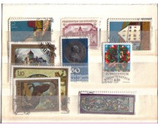 1978 - LBF/2576  - LIECHTENSTEIN - ANNATA COMPLETA 1978