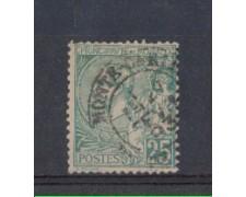 1891 - LOTTO/2625A - MONACO - 25c. VERDE