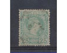 1885 - LBF/2625B - MONACO - 25c. VERDE CARLO III°