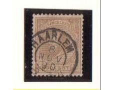 1872 - LOTTO/3584IU -  OLANDA - 50c. BISTRO - USATO