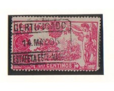 1905 - LBF/2774U - SPAGNA - 40c. DON CHISCIOTTE