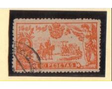 1905 - LBF/2776 -  SPAGNA - 10 PST . DON CHISCIOTTE