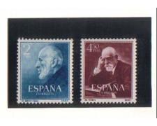 1952 - LOTTO/2786  - SPAGNA - CAJAL e FERRAN