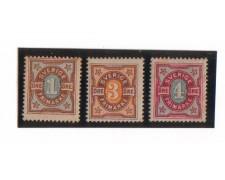 1892 - LBF/2807 - SVEZIA - CIFRA IN OVALE
