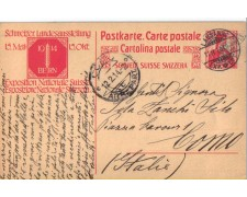 1914 - LBF/2824  - SVIZZERA - CARTOLINA POSTALE EXPO SVIZZERA - USATA