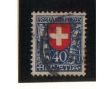 1923 - LBF/2832A -  SVIZZERA - PRO JUVENTUTE 40+10c. - USATO