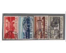 1938 - LBF/2846 -  SVIZZERA - SOCIETA' NAZIONI  4v. USATI