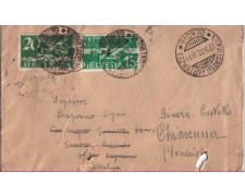 1938 - LBF/2847 SVIZZERA - BUSTA PER GENOVA