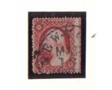1857 - LBF/2925 -  STATI UNITI - 3c. MARRONE