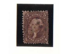 1861 - LBF/2930  - STATI UNITI - 5c. CAMOSCIO