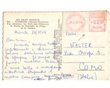 1959 - LOTTO/17338 - FRANCIA - CARTOLINA CON AFFRANCATURA MECCANICA