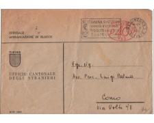 1948 - LBF/3064 - SVIZZERA - BUSTA UFFICIO CANTONALE PER L'ITALIA