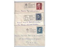 1958 - LOTTO/17355  - SVIZZERA - INSIEME DI TRE BUSTE