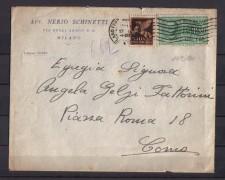 1944 - LBF/496E -  MILANO - BUSTA ESPRESSO PER COMO