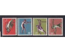 1956 - LOTTO/3805 - LIECHTENSTEIN - SPORT III° SERIE - NUOVI