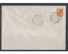 1957 - LOTTO/1010 - 6 LIRE SIRACUSANA FDC