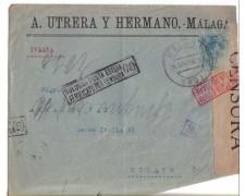 1916 - LOTTO/1653 -  SPAGNA - BUSTA