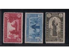 1931 - LOTTO/REG298TVL -  REGNO - S.ANTONIO 3v. - T/L