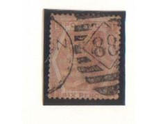 1872 -LOTTO/1832 -  GRAN BRETAGNA - 6p. BISTRO - TAV. 11 POS. L/