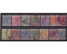 1882/1928 - LOTTO/1861 -  CIPRO - DIVERSI VALORI