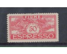 1920 - LOTTO/OCP2191A - FIUME - ESPRESSO 50c.