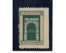 1923 - LOTTO/OCP2197 - FIUME - 30c. S.VITO VARIETA'