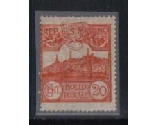 1903 - LOTTO/2675  - SAN MARINO - 20c. ARANCIO  LING.