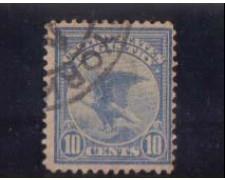 1911 - LOTTO/2931 - STATI UNITI - 10c. RACCOMANDATE - USATO