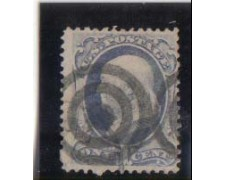 1870 - LOTTO/2933 - STATI UNITI - 1c. FRANKLIN USATO