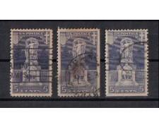 1926 - LOTTO/2940 - STATI UNITI - 5c. ERICSON USATI