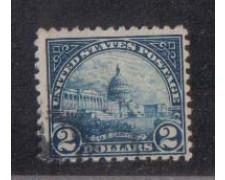 1922 - LOTTO/2943 - STATI UNITI - 2 $ CAMPIDOGLIO USATO