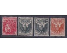 1915/16 - LOTTO/REG105CPN  - REGNO - PRO CROCE ROSSA - NUOVI