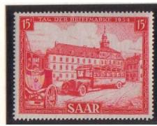 1954 - LOTTO/3071 - SARRE - GIORNATA FRANCOBOLLO
