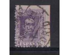 1922 - LOTTO/3412 - SPAGNA - 20c. VIOLETTO - VARIETA'