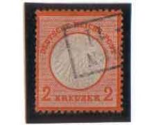 1872 - LOTTO/3446 - GERMANIA IMPERO - 2 K. ARANCIO