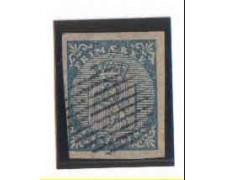 1855 - LOTTO/3471 - NORVEGIA - 4 SK. AZZURRO - USATO