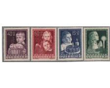 1949 - LOTTO/3493 - AUSTRIA - PRO OPERE INFANZIA