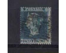 1854/55 - LOTTO/3501 - GRAN BRETAGNA - 2p. AZZURRO