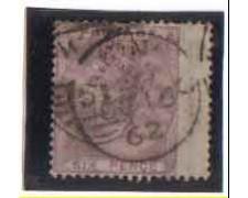 1855/57 - LOTTO/3504 - GRAN BRETAGNA - 6p. VIOLETTO