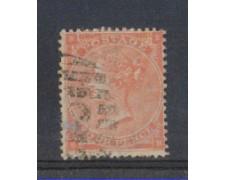 1862 - LOTTO/3507 - GRAN BRETAGNA - 4p. ARANCIO TAV. 3