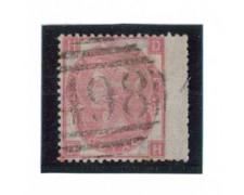 1865 - LOTTO/3508 - GRAN BRETAGNA - 3p. ROSA - TAV.4