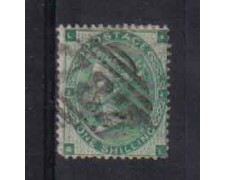 1862 - LOTTO/3511 - GRAN BRETAGNA - 1 Sc. VERDE. - TAV. 1