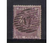 1856 - LOTTO/3513 - GRAN BRETAGNA - 6p. VIOLETTO