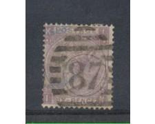 1865 - LOTTO/3515 - GRAN BRETAGNA - 6p. VIOLETTO - TAV. 5