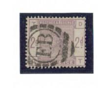 1883/84 - LOTTO/3521 - GRAN BRETAGNA - 2p. VIOLETTO - POS. TD