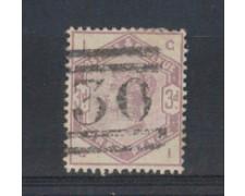 1883/84 - LOTTO/3522 - 3p. VIOLETTO - POS. IG