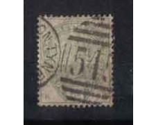 1883/84 - LOTTO/3524 - GRAN BRETAGNA - 5p. VERDE